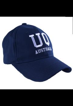 UQ Cap Navy/White