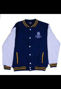 UQ Unisex Varsity Jacket Navy L